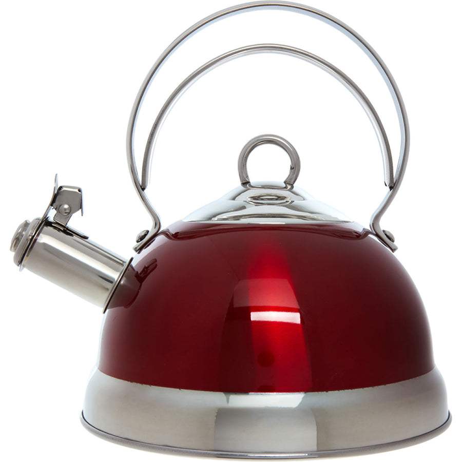 Red Whistling Kettle - 2L