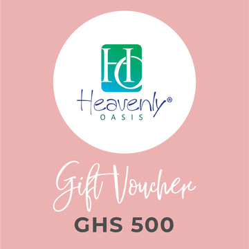 Heavenly Oasis Gift Voucher - GHS 500