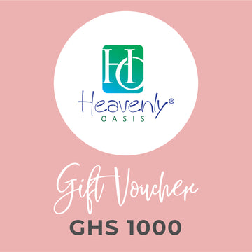 Heavenly Oasis Gift Voucher - GHS 1000