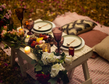 Picnic For Two - Sultry Flowery Package