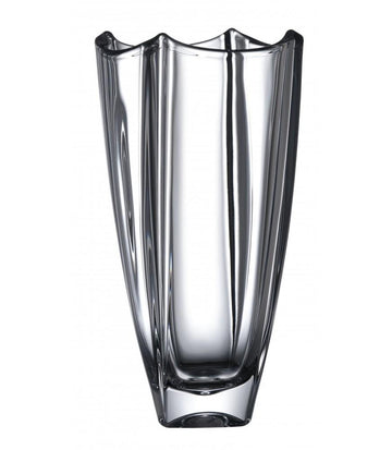 Galway Crystal Dune 12 Inch Square Vase