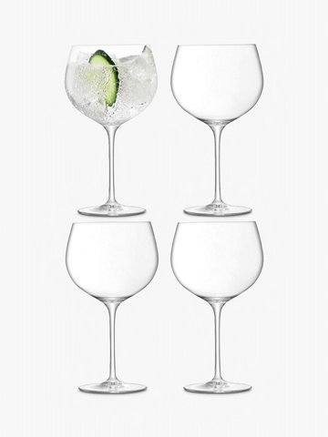 Glass Collection GIN TONIC Glasses | Pack of 4