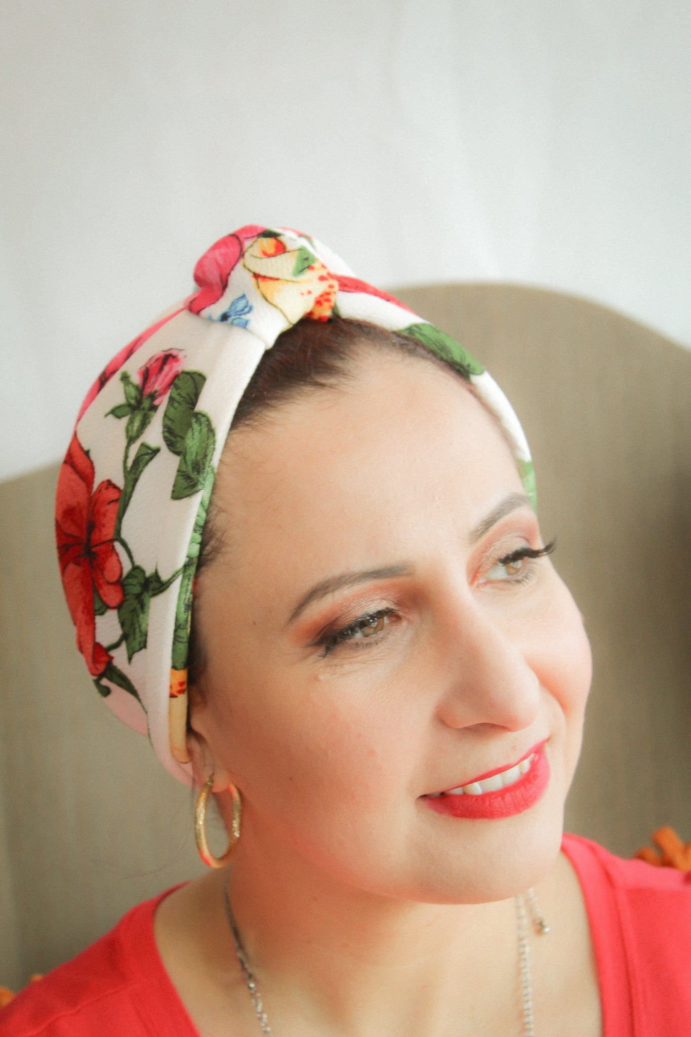 Floral Print Turban SOLD OUT