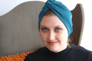 Olympic blue Turban