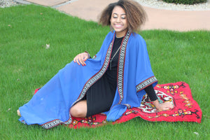 Blue Long Sleeve Tunic/Abaya  SOLD OUT