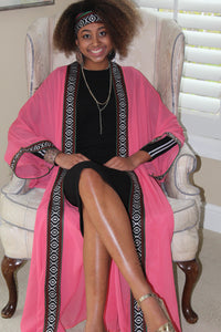 Light Pink Traditional Tunic/Abaya SOLD OUT