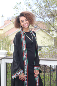 Black Traditional Tunic/Abaya
