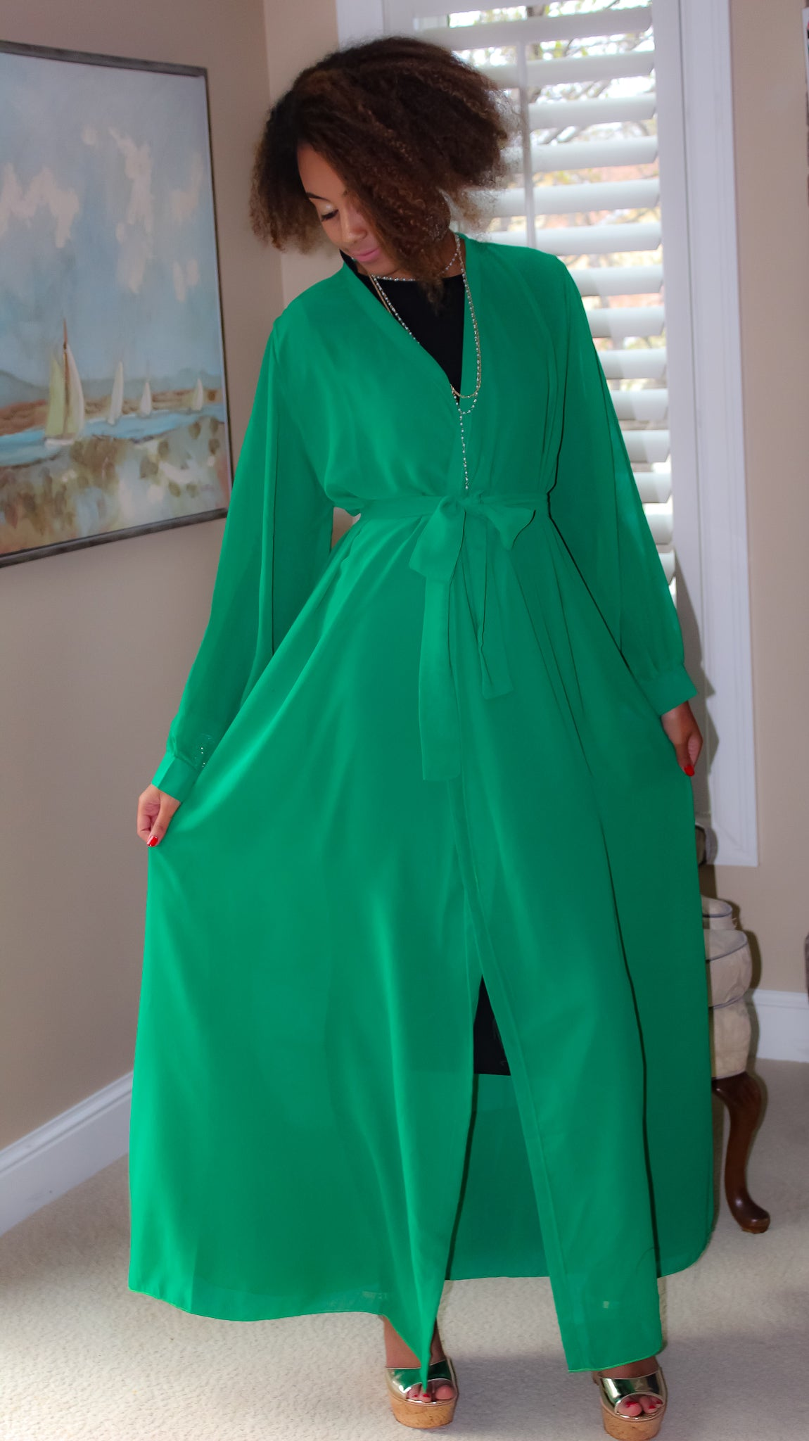Green summer Dress SOLD OUT