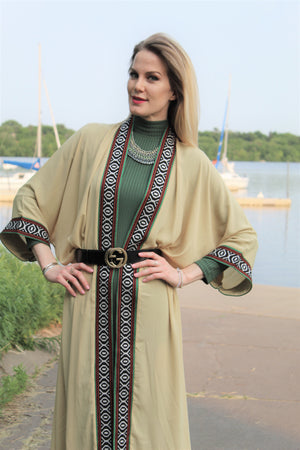 Mocha Traditional Tunic