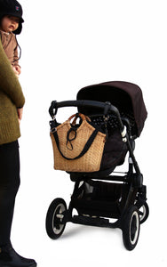 Pako bamboo stroller bag & the Black bag