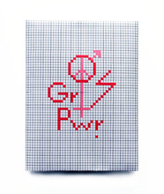 Load image into Gallery viewer, The future is equal. DIY embroidery kit in pink