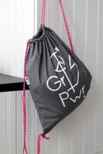 "Load image into Gallery viewer, Gym bag ""The Future is equal"". Recycled fabric"