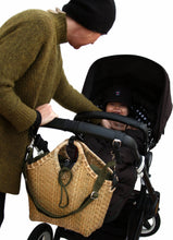 Load image into Gallery viewer, Pako bamboo stroller bag & the Green bag