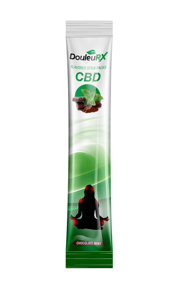 CBD Powder Stick Chocolate Mint Flavor (24 pack)