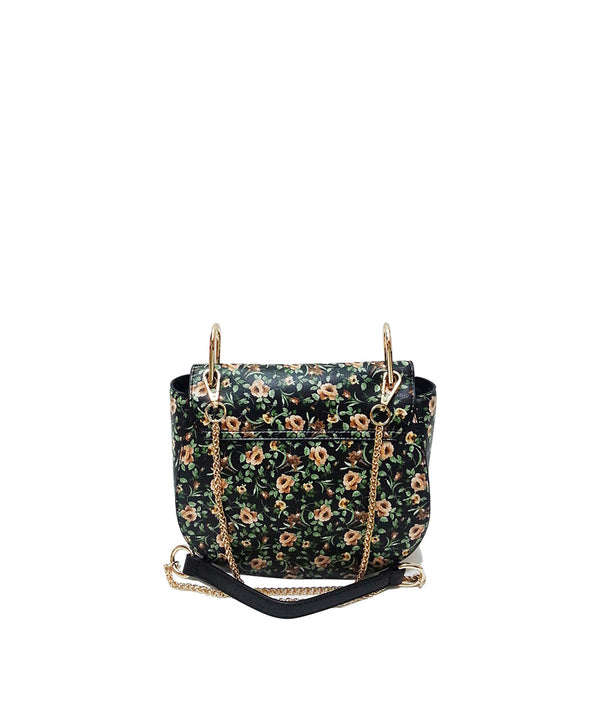 DAISY FLOWER PRINT FLAP OVER CROSSBODY