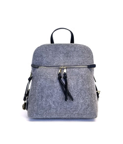 JASMINE WOOL DOME MEDIUM BACKPACK