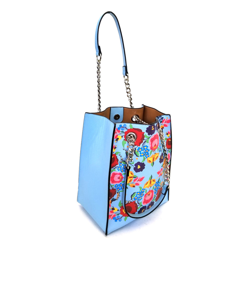 DAISY FLOWER PRINTING SHOULDER BAG
