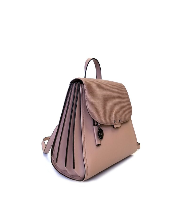 JOLIE EMBOSS FLAP BACKPACK
