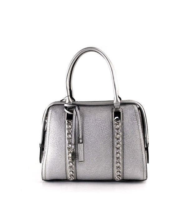 EVA METALLIC MEDIUM SATCHEL