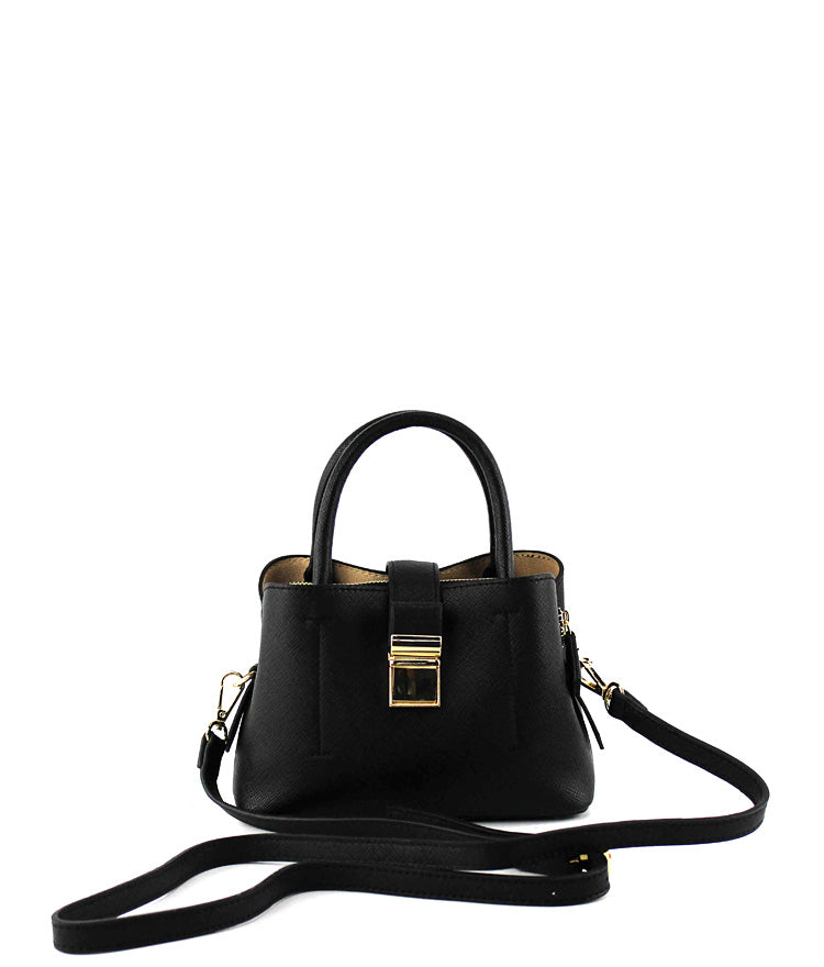 VERA TOP PUSH CLOSURE MINI CROSSBODY