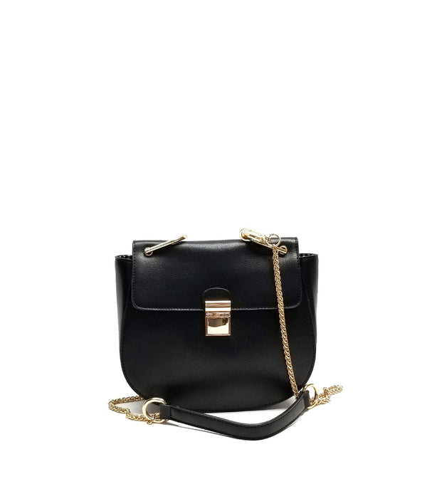 VICTORIA FLAP OVER CLOSURE CLIP END STRAP CROSSBODY