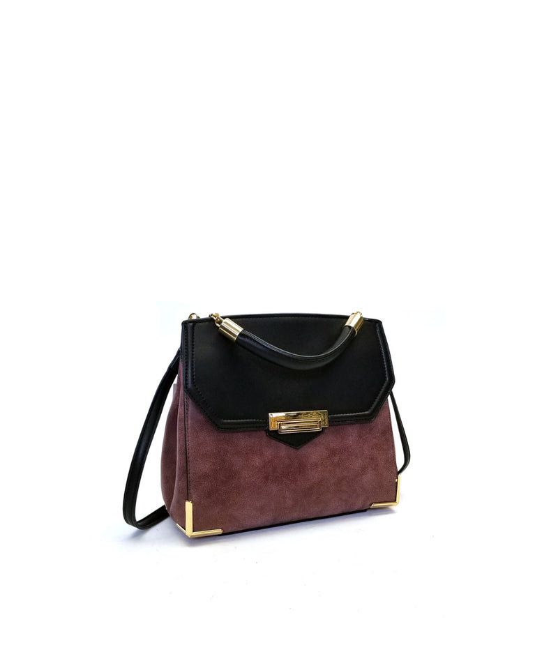 VICTORIA FLAP OVCER LOCK CLOSURE CROSSBODY