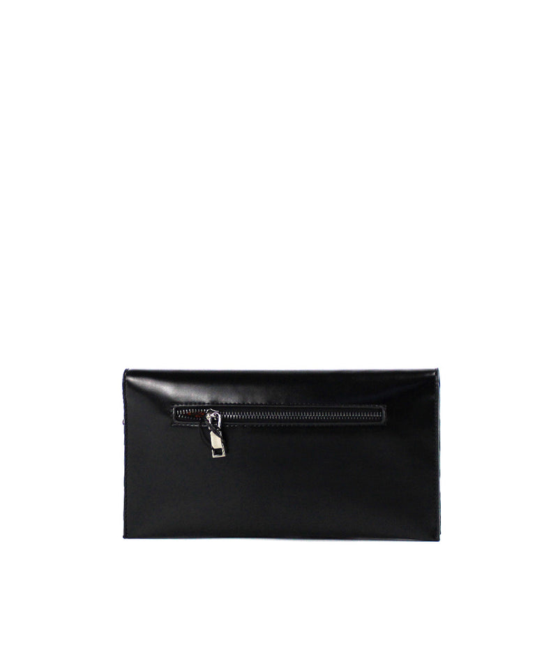 NINA METAL BALL NAPPA ENVELOP CLUTCH