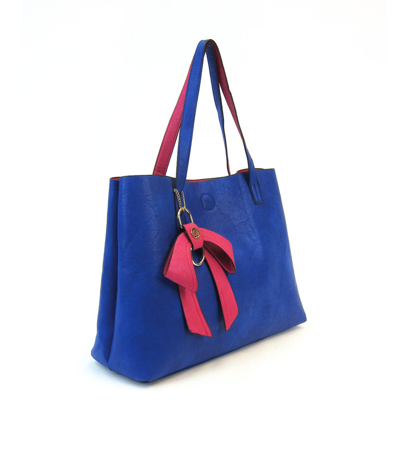 AVA REVERSIBLE MEDIUM TOTE