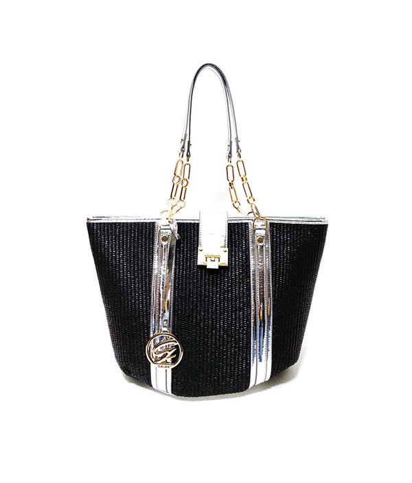 BRIDGET TOP ZIPPER CLOSURE TOTE