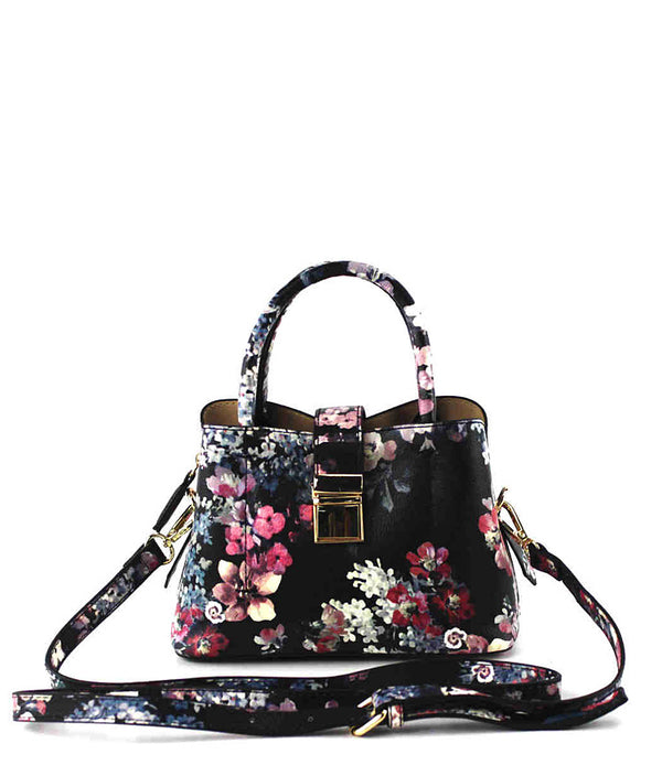 DAISY FLOWER PRINT MINI CROSSBODY