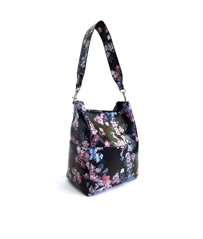 DAISY FLOWER PRINT BUCKET