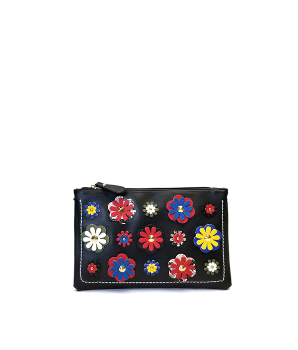 LEA FLOWER PATCH CLUTCH