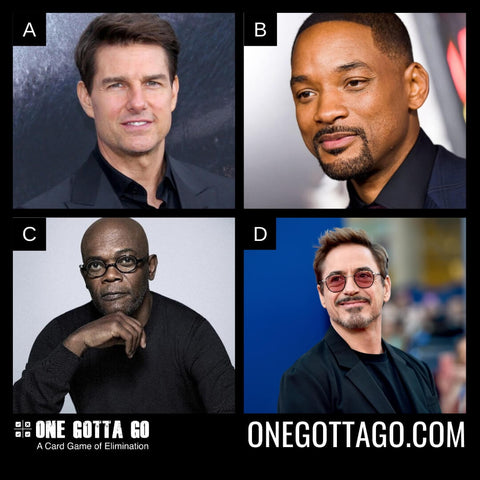 One Gotta Go - Tom Cruise, Will Smith, Sam Jackson, Robert Downey Jr