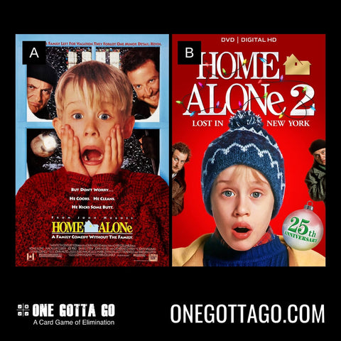 One Gotta Go Game - Home Alone , Home Alone 2: Lost In New York