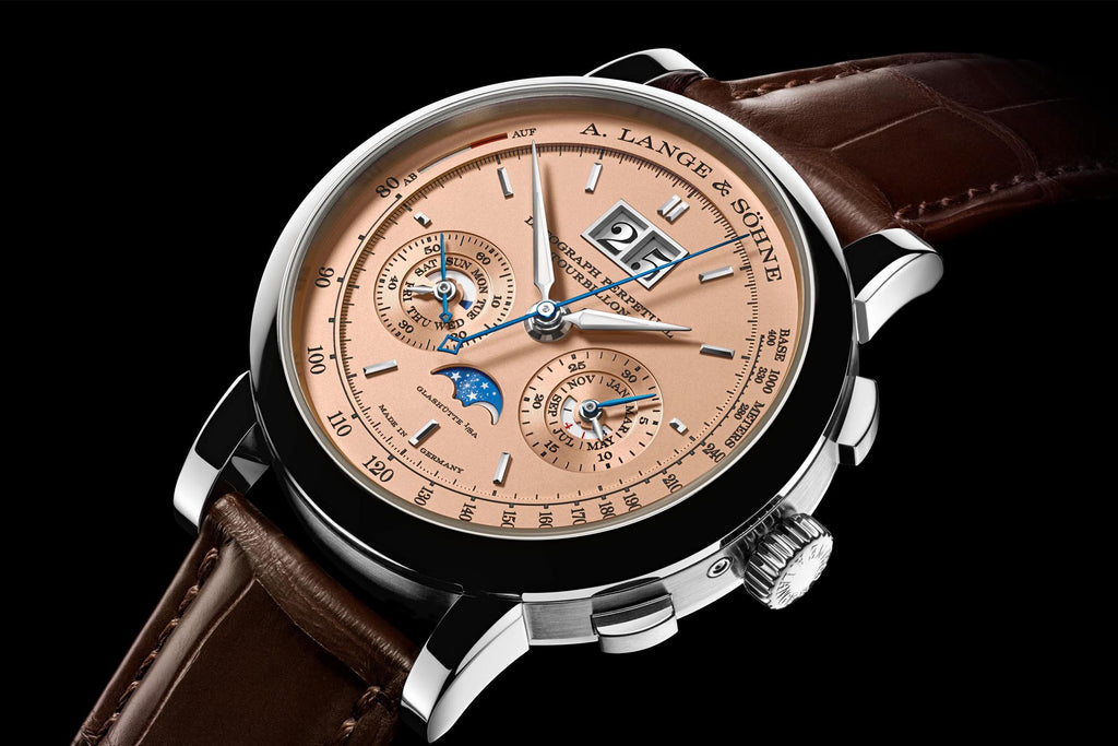 Lange & Söhne Datograph Men's Luxury Watch Example