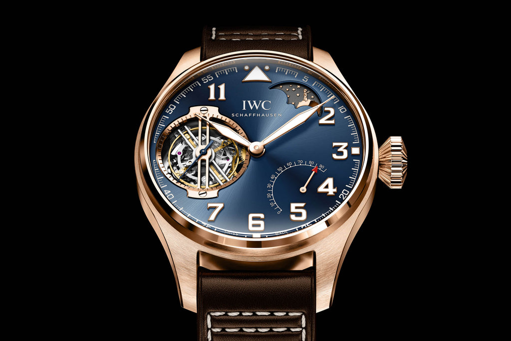 IWC International Watch Company Example Gold Men's Watch