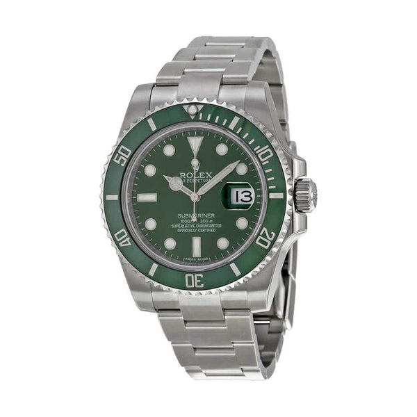 Green Hulk Men's Rolex Submariner