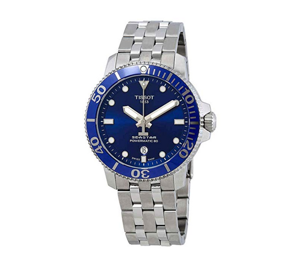Tissot Seastar Stainless Steel Automatic Watch