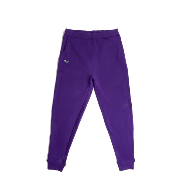Purple Multi Colour Skunk Patch Joggers
