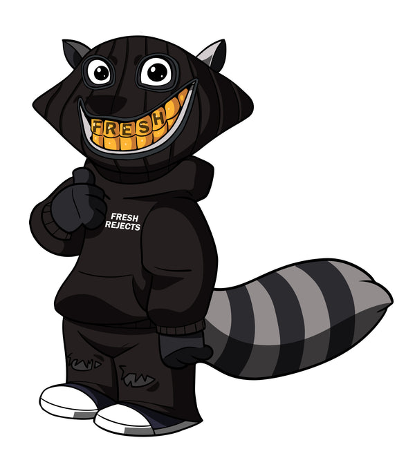 Fresh the Raccoon | hoodie
