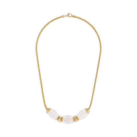 Lalique Vibrante Oval Necklace