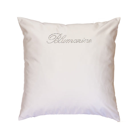 BLUMARINE, CUSHION LIVING 60*60CM, W/ SW. CRYSTALS