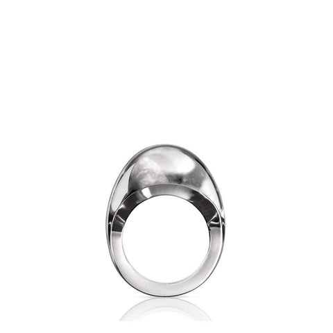 Laliqye Gourmande Ring Silver Crystal