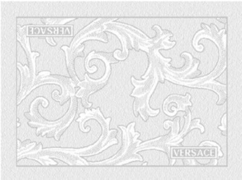 Versace Home, Arabesque Bath mat white, 60*80cm