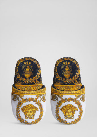 Versace Home, I Heart Baroque Slippers XL
