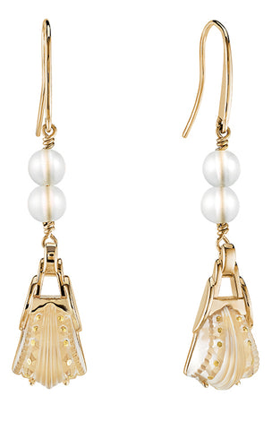 Lalique Icone Earrings