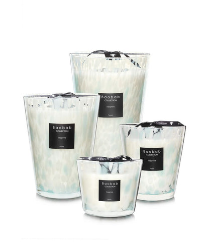 Pearls Sapphire Scented Candle- Baobab Collection