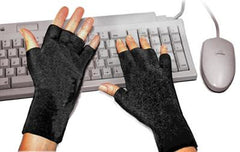 SoftSplints are soft gloves that keep your wrists warm, supported, and pain free