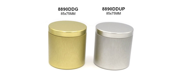 Deep Drawn Pillow Lid Tins