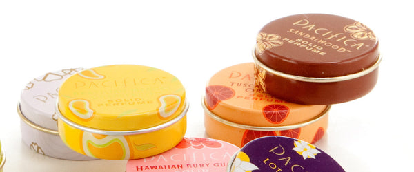 Solid Scent Tins